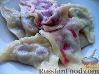 Фото к рецепту: Классические полтавские вареники с вишнями
