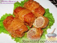 Фото приготовления рецепта: Мясные зразы - шаг №9