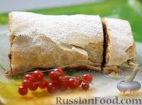 Фото к рецепту: Венский штрудель
