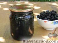 Фото к рецепту: Компот из шелковицы