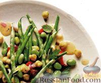 Фото к рецепту: Салат фасолевый