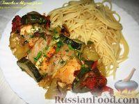 Фото к рецепту: Курица по-тоскански