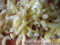 Фото приготовления рецепта: Овощное рагу на зиму - шаг №3