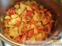 Фото приготовления рецепта: Овощное рагу на зиму - шаг №6