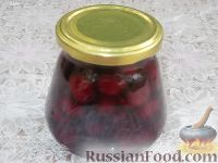 Фото к рецепту: Варенье «Пятиминутка» из вишни