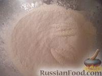 Фото приготовления рецепта: Тесто для жареных пирожков (опарный способ) - шаг №4