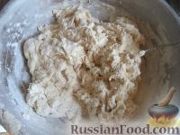 Фото приготовления рецепта: Тесто для жареных пирожков (опарный способ) - шаг №6