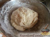 Фото приготовления рецепта: Тесто для жареных пирожков (опарный способ) - шаг №7
