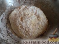 Фото приготовления рецепта: Тесто для жареных пирожков (опарный способ) - шаг №8