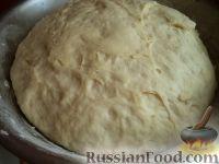 Фото приготовления рецепта: Тесто для жареных пирожков (опарный способ) - шаг №9