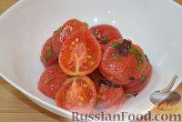 Фото к рецепту: Маринованные помидоры в лимоне с медом