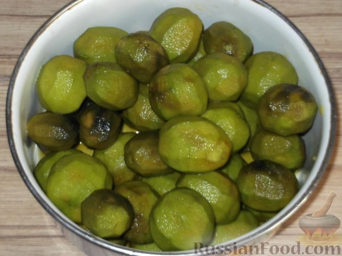 как приготовить варенье из грецких
