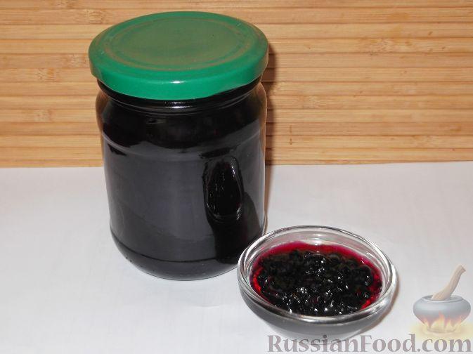 Рецепт Варенье из черной смородины «Пятиминутка»