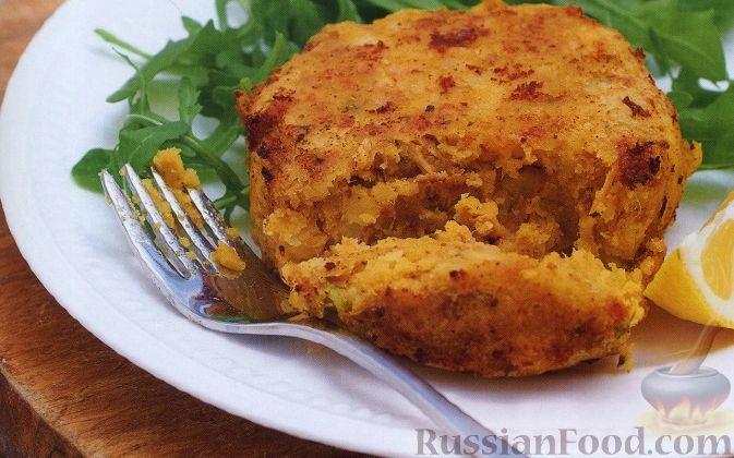 Рецепт Картофельные котлеты с тунцом