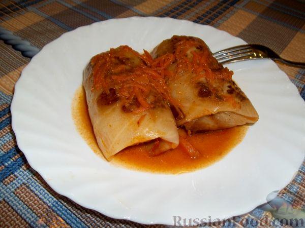 Рецепт Голубцы с мясом и рисом