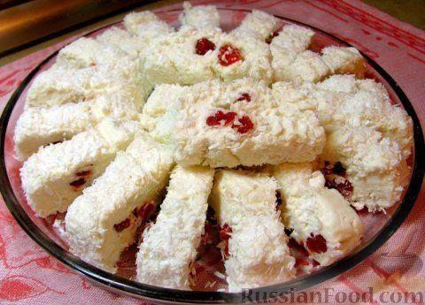 Рецепт Десерт «Белоснежка»