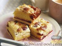 Фото к рецепту: Марципановые пирожные