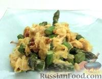 Фото к рецепту: Взбитые яйца (омлет) со спаржей