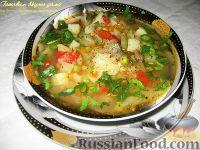 Фото к рецепту: Овощной летний суп