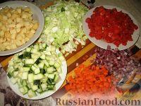 Фото приготовления рецепта: Овощной летний суп - шаг №2