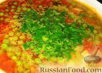 Фото приготовления рецепта: Овощной летний суп - шаг №6