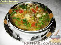 Фото приготовления рецепта: Овощной летний суп - шаг №7