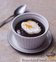 Фото к рецепту: Шоколадный крем-мусс с апельсинами