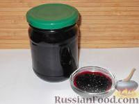 Фото к рецепту: Варенье из черной смородины «Пятиминутка»