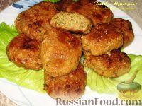 Фото к рецепту: Котлеты с зеленью