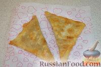 Фото приготовления рецепта: Ленивые чебуреки из лаваша - шаг №6