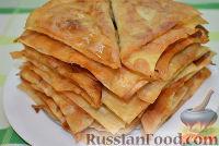 Фото приготовления рецепта: Ленивые чебуреки из лаваша - шаг №7