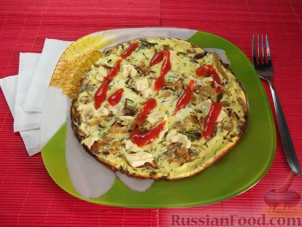 Рецепт Омлет с капустой