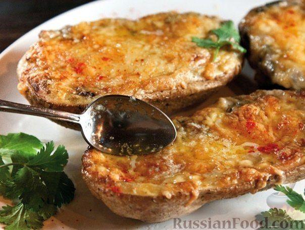 Рецепт Жульен в картофеле