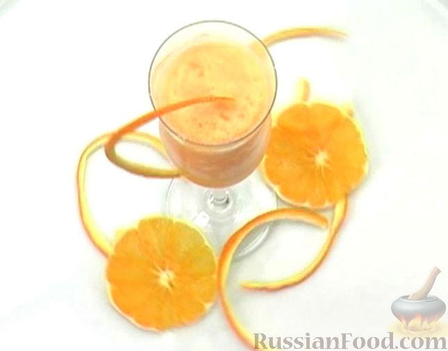 Рецепт Апельсиновый шербет