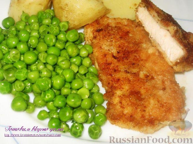 Фото приготовления рецепта: Жареная картошка с говяжьей печенью - шаг №4