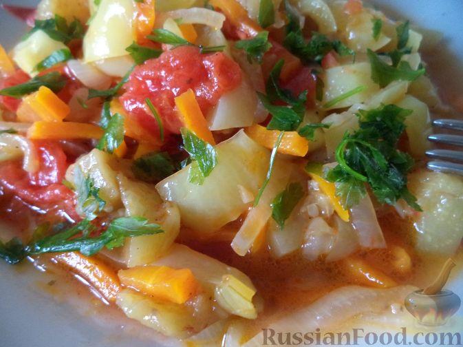 Рецепт Овощное рагу с болгарским перцем