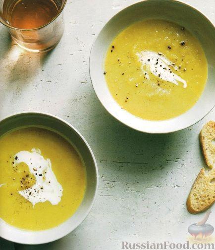 Рецепт Суп-пюре из пастернака и яблок