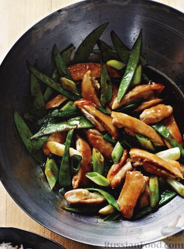 Рецепт Рагу из курицы и зеленого горошка