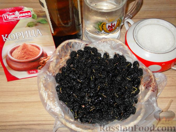 Фото приготовления рецепта: Вино из тутовой ягоды (шелковицы) - шаг №1