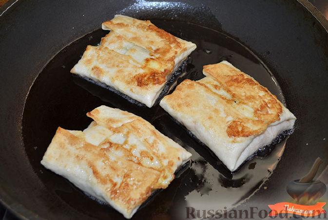 лаваш с начинкой обжаренный рецепты с фото
