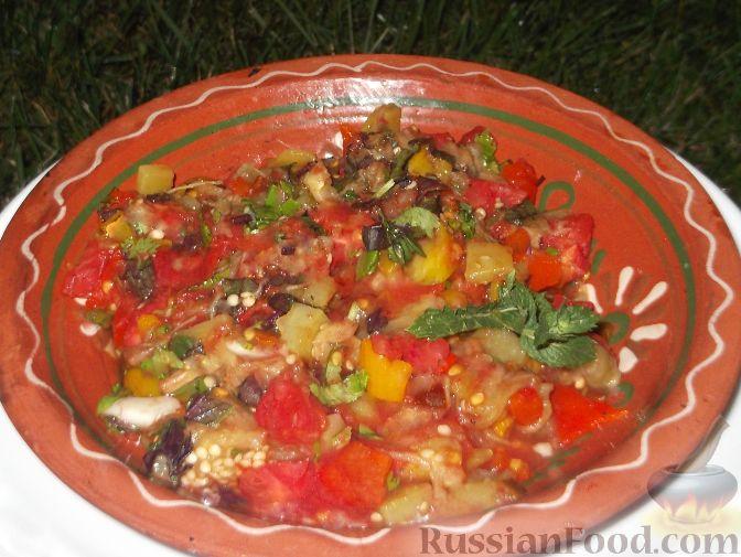 Рецепт Овощи на мангале