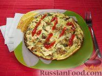 Фото к рецепту: Омлет с капустой