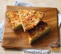 Фото к рецепту: Тортилья (омлет) с сыром и кукурузой