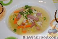 Фото к рецепту: Рисовый суп с помидорами
