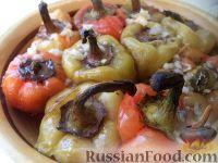 Фото к рецепту: Сладкий жареный перец в чесночной заливке