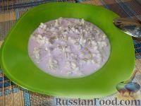 Фото к рецепту: Перловая каша с семечками и йогуртом