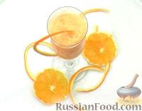 Фото к рецепту: Апельсиновый шербет