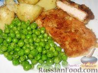 Фото к рецепту: Антрекот по-варшавски