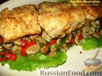 Фото к рецепту: Рыба на бобах