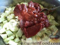 Фото приготовления рецепта: Кабачковая икра на зиму - шаг №8